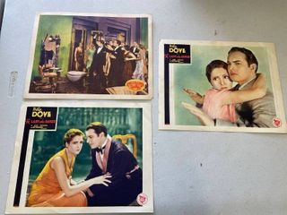 Billie Dove In  The lady Who Dared  lobby Cards