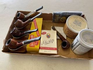 Tobacco Pipes  6  Pipe Stand  Smoking Tobacco Mixture  Sealed  Raleigh