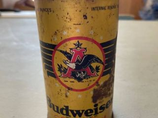 Budweiser lager Beer Vintage Can