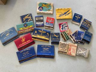 Matchbooks   Air Force  Navy  Army  22