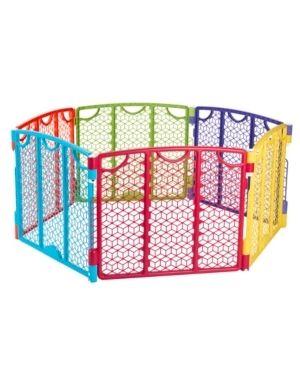 Evenflo Versatile Playspace Indoor Outdoor Gate  Multi Color
