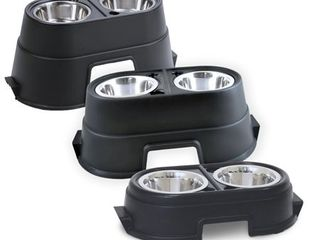OurPets Comfort Feeder 12   Black  Pet Feeder