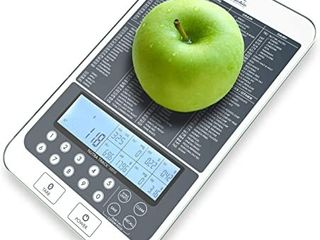Digital Kitchen Food Scale Auto Calorie Macros Calculator Easy Meal Prep