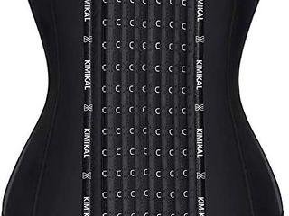 Kimikal Women Steel Boned Short Torso Underbust Corset