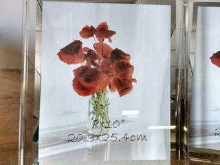 Glass Picture Frames  8 10 set of 2
