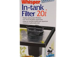 Tetra 25817 Whisper In Tank Filter with BioScrubber  10 to 20 Gallon