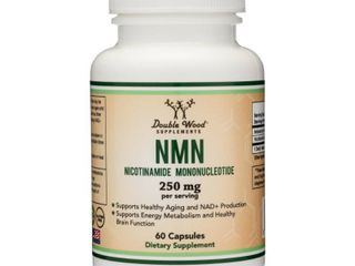 Nmn 250mg Serving Nicotinamide Mononucleotide Direct Nad  Supplement  2x 125mg C