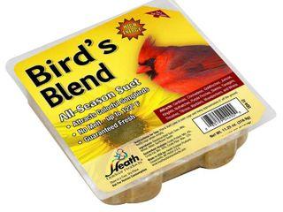 Heath Outdoor Products DD12 Birdie s Blend Suet Cake  pack of 2