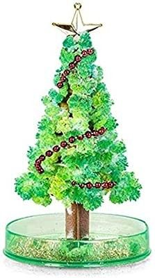 Magic Growing Crystal Christmas Tree  DIY Christmas Decorations Tree  Funny Educational and Party Toys  DIY Xmas Ornaments   2 pack