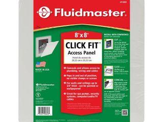 Fluidmaster AP 0808 Plastic Wall Access Panel  8 Inch