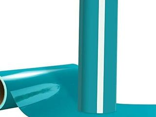 Heat Transfer Vinyl HTV Aqua Vinyl Roll 12 x6ft for Tshirt Compatible with All Cutting Machines