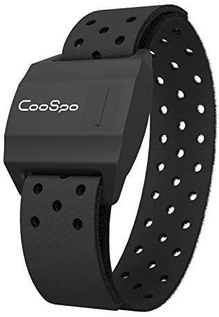 CooSpo Bluetooth   ANT  Heart Rate Monitor Armband Optical HRM Sensor Waterproof IPX7 Fitness Tracker Armband Compatible with Zwift  Wahoo Fitness  Endomondo  Peloton One More Free Armband  i1 4 i1 4 i1 4 i1 4 i1 4 i1 4 i1 4