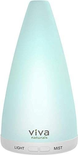 Viva Naturals Aromatherapy Essential Oil Diffuser   Vibrant Changeable lED lights