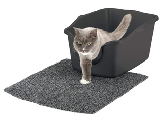 Nature s Miracle High Sided Cat litter Box  Easy Clean Spout  18 25 x 23 40