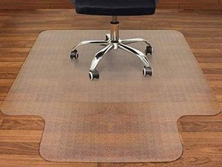 Chair Mat with lip for Hardwood  36  x 48  Clear