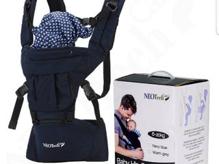 Baby Carrier Hip Seat 100  Cotton   Pocket   Removable Hoodie Head Support