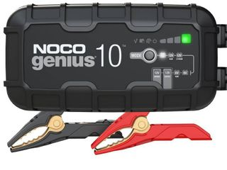 NOCO GENIUS10  10 Amp Fully Automatic Smart Charger  6V And 12V Battery Charger  Battery Maintainer  And Battery Desulfator With Temperature Compensation