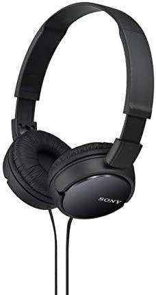 Sony MDRZX110 BlK ZX Series Stereo Headphones  Black