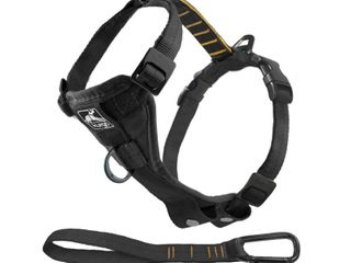 Kurgo Tru Fit Smart Dog Harness with Quick Release Buckles  Extra large  Black