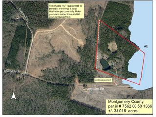 38+/- Acres Located in Montgomery County, NC
