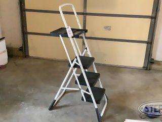 Costco 3 Step Folding Step ladder w Tray 0 jpg