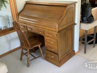 Roll Top Desk Chair 0 jpg