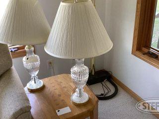 2 Glass lamps 0 jpg