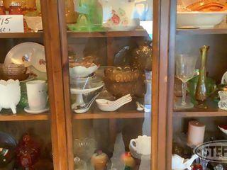 1 Shelf of Glassware in Hutch 0 jpg