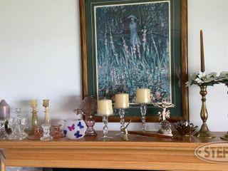 Glass Brass Candle Stick Holders 0 jpg