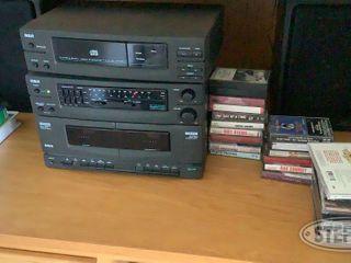 RCA Stereo AM FM CD Dual Cassette 0 jpg