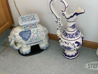 Ceramic Vase Elephant 0 jpg
