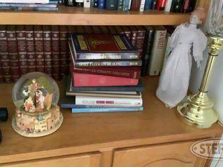 Shelf of Books Encyclopedias lamp Misc 0 jpg