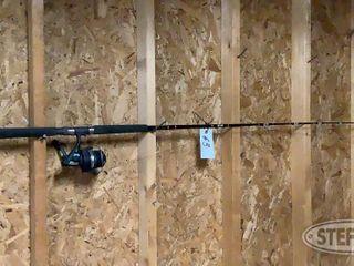 Penn Power Stick Fishing Pole Daiwa Reel 0 jpg