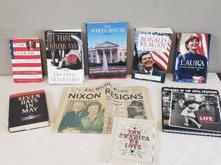 Presidential Books  life Magazine Book and Nixon Resignation Edition of Wichita Eagle Newspaper