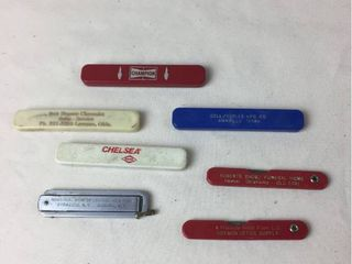 Vintage Advertising Pocket Knives   7pcs