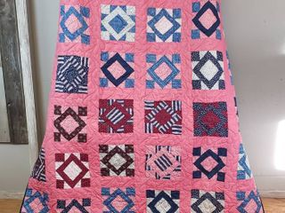 Quilt   72 x 82 in    Album Block  Friendship Pattern