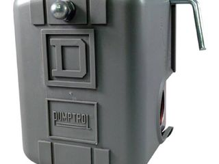 Pumptrol Water Pressure Switch w  low Pressure Cut Off