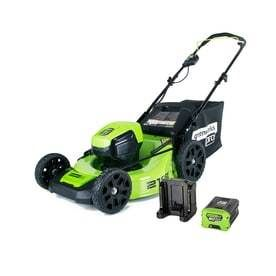 Greenworks Pro 60V Brushless lithium Ion Cordless Electric lawn Mower