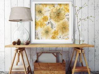 Wexford Home Sunshine and linen Custom Framed Print