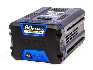 Kobalt 80V Max 2 5Ah lithium Ion Battery