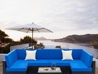 PIECE OF Havenside Home Gereja Outdoor Rattan Sectional Sofa Set