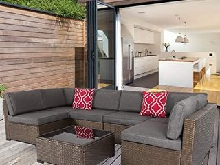 PIECE OF Outdoor Wicker Sectional Sofa Set