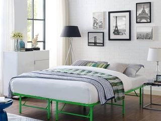 Horizon Stainless Steel Bed Frame Full Queen Size