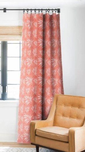 Deny Designs Island Breeze Blackout Curtain Panel