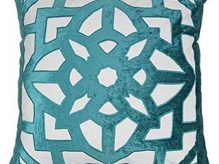 Blazing Needles Indian Geometric Throw Pillow