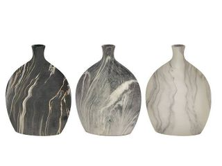 Deco Ceramic Vases Set of 3