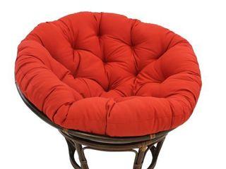 Blazing Needles 52 inch Solid Twill Papasan Cushion