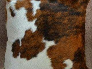 Pergamino Tricolor Cowhide Pillows Case