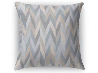 Aaron Grey Indoor Outdoor Pillow by Kavka Designs