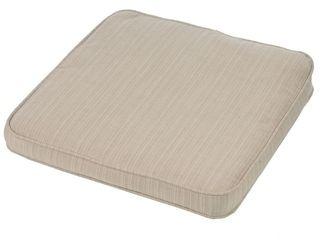 Kokomo Teak Dining Side Chair Stain resistant Seat Cushion in Walnut